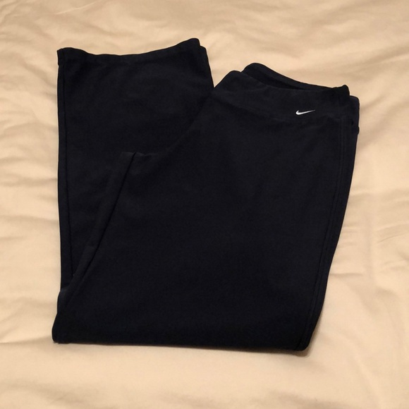 Nike dry fit flare workout pants